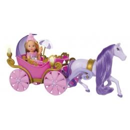 Poupée Evi Love et son Carrosse de Princesse