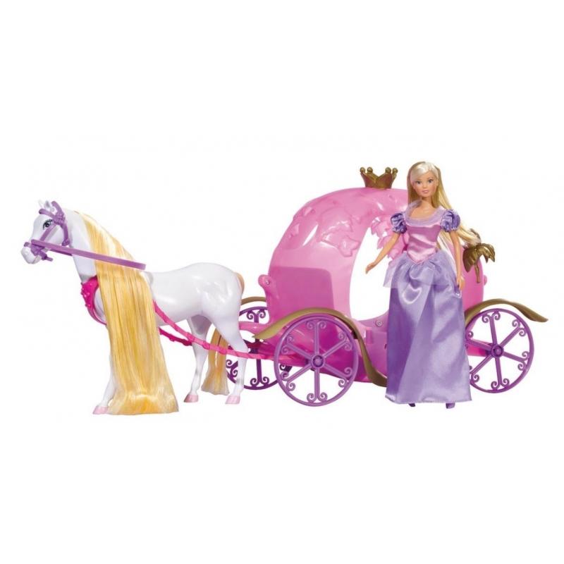Poup e steffi love et son carrosse de princesse - Carrosse de princesse ...