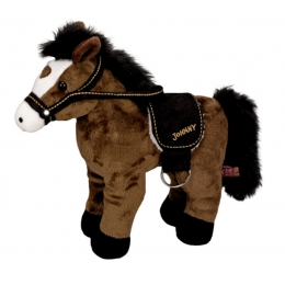Peluche Cheval Johnny 30 cm
