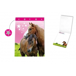 Carnet Bloc Notes Cheval Passion