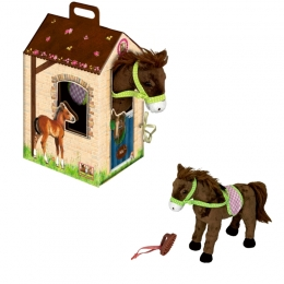 Peluche Cheval Kiki Et son Box