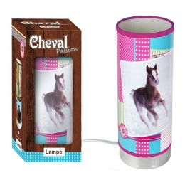 Lampe Tube Cheval Girly