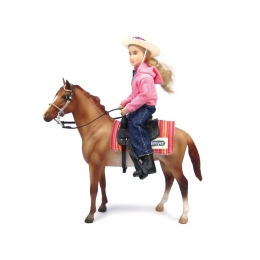 Breyer - Let's Go Riding - Set Western 1/12