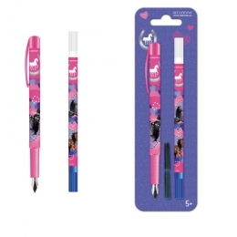 Set Stylo Encre Cheval + Effaceur Cheval