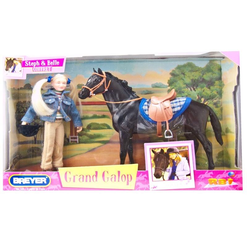 Coffret grand galop steph et belle 1 12 paradis du cheval - Grand galop le cheval volant ...
