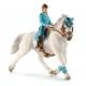 Cavalière De Compétition Schleich Et Son Cheval