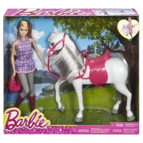 barbie et son cheval - Barbie Cheval
