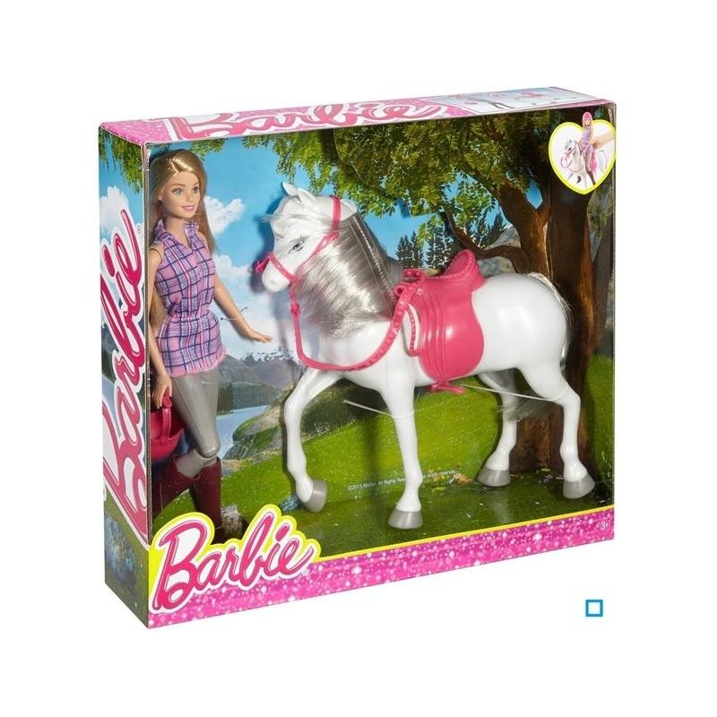 Barbie et son cheval - Jeux de barbie avec son cheval ...