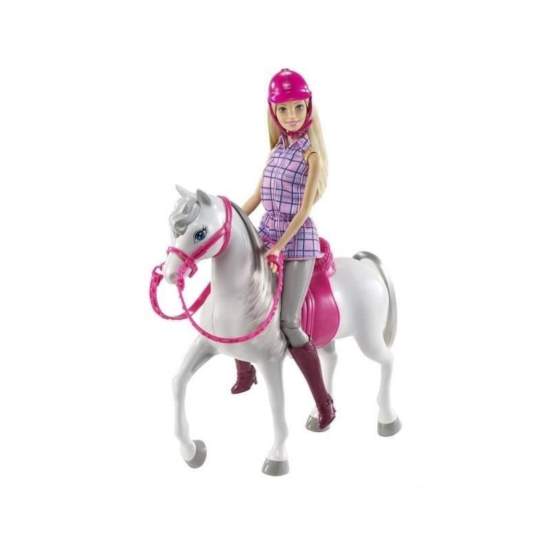 barbie et son cheval. Black Bedroom Furniture Sets. Home Design Ideas
