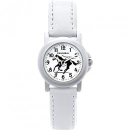 Montre Cheval Bracelet Blanc