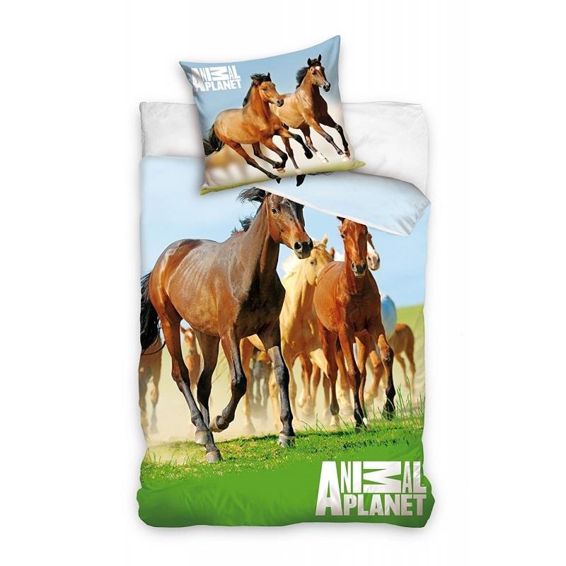 nice housse de couette cheval 1 personne #7: parure de lit good
