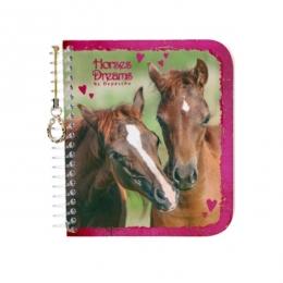 Carnet Scintillant Duo De Chevaux Horses Dreams