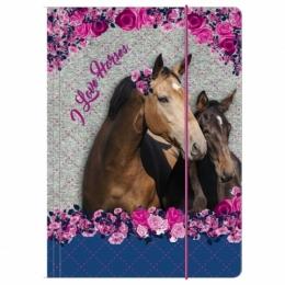 Chemise à Rabats Cheval I Love Horses