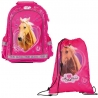 Set Scolaire Cheval Rose