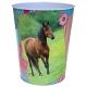 Corbeille Et Pot A Crayons Cheval Turquoise