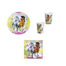 Set Anniversaire Cheval Charming Horses