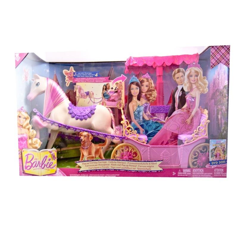 Barbie cal che f rique - Caleche barbie ...