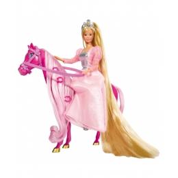 Poupée Steffi Love Princesse à Cheval Rose