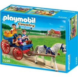 Playmobil Country - Calèche et Famille