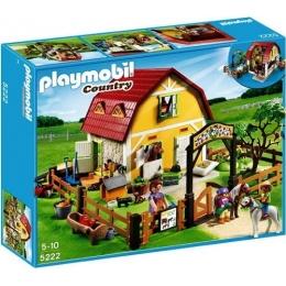 Playmobil Country - Ranch avec Poneys