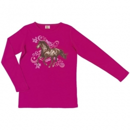 Tee Shirt Manches Longues Cheval