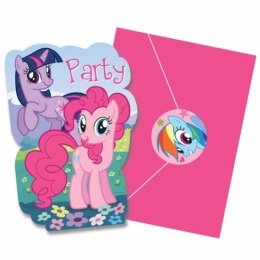 Cartes d'invitation Mon Petit Poney