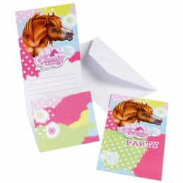 Cartes D'invitation Cheval Charming Horses