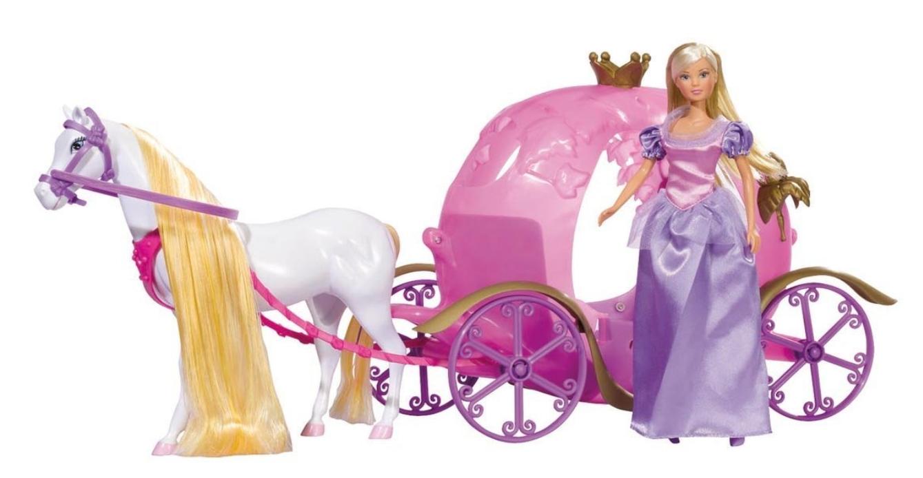 Poupée Steffi Love et son Carrosse de Princesse