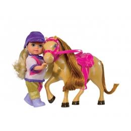 Poupée Evi Love et son Poney Caramel