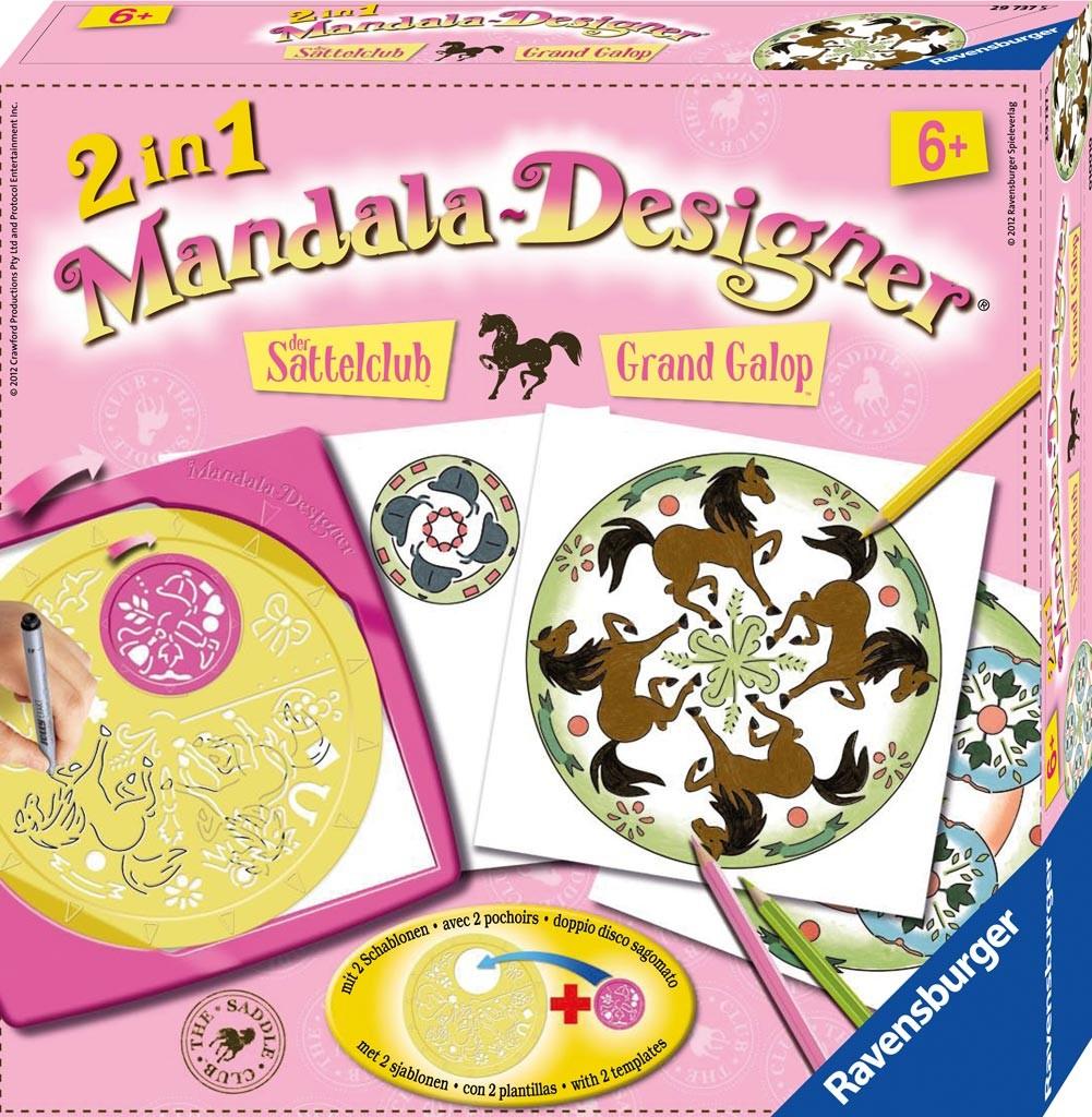 Mandala Designer 2 en 1 Grand Galop