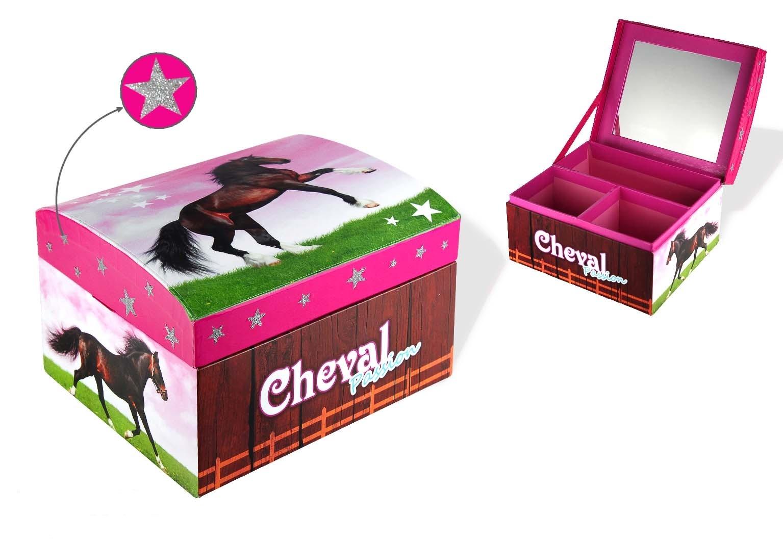 Boîte à Bijoux Cheval Grand Modèle