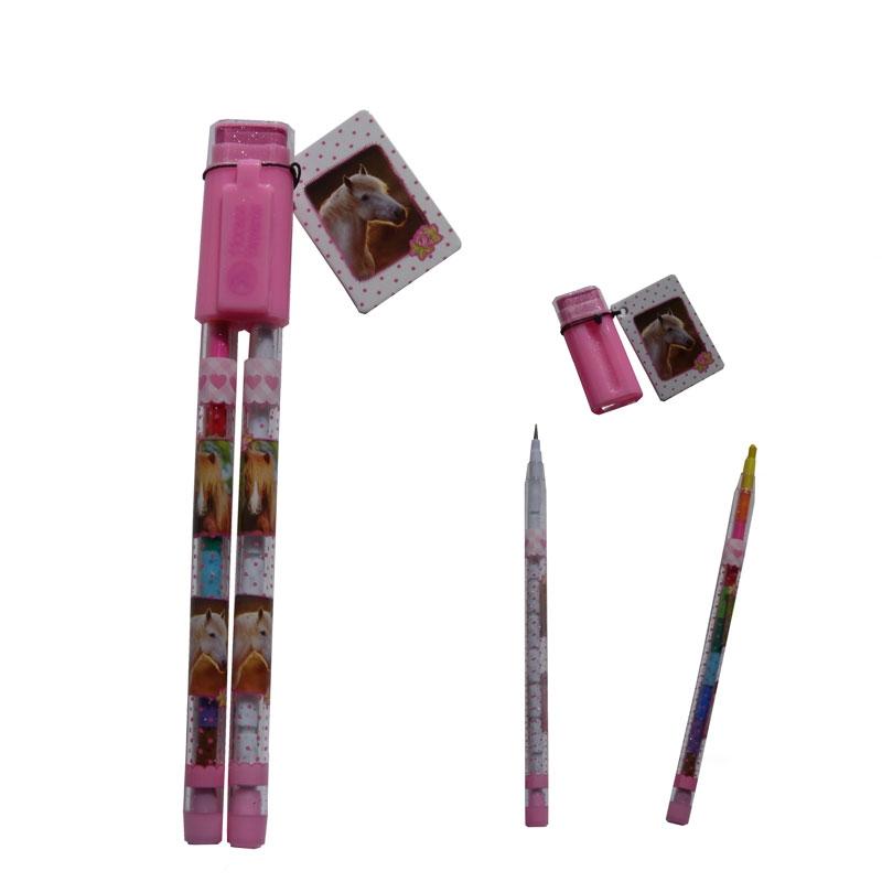 Horses Dreams: Set Crayons Créatifs Cheval