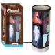 Lampe Tube Cheval Marron