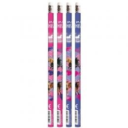 Set De 4 Crayons à Papier Cheval HB