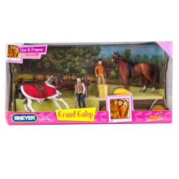 Coffret Grand Galop Lisa et Prancer 1/32