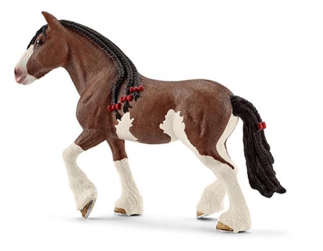 Figurine Jument Clydesdale Schleich