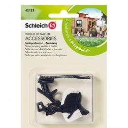 Selle De Saut D'obstacles Schleich + Harnais