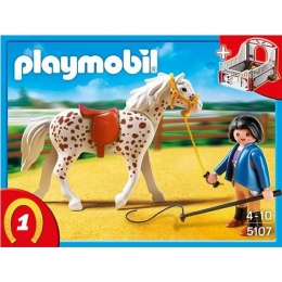 Playmobil - Cheval Et Monitrice