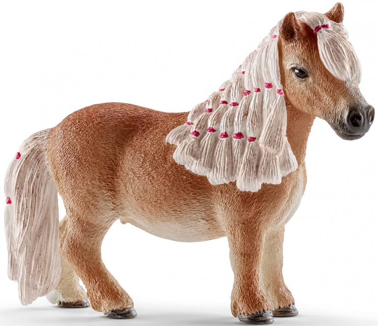 Figurine Mini Jument Poney Shetland Schleich