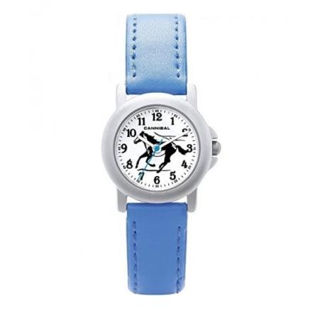 Montre Cheval Bracelet Bleu