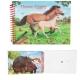 Horses Dreams: Album De Coloriage 3D Cheval