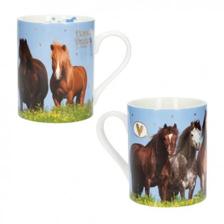 Mug Brillant Cheval Passion