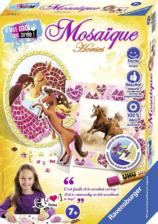 Mosaïque Horses