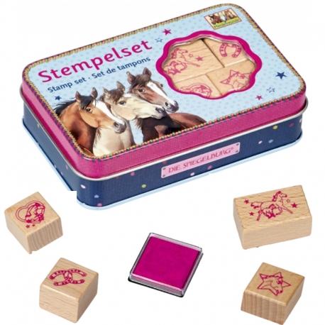 Boîte de Tampons Cheval