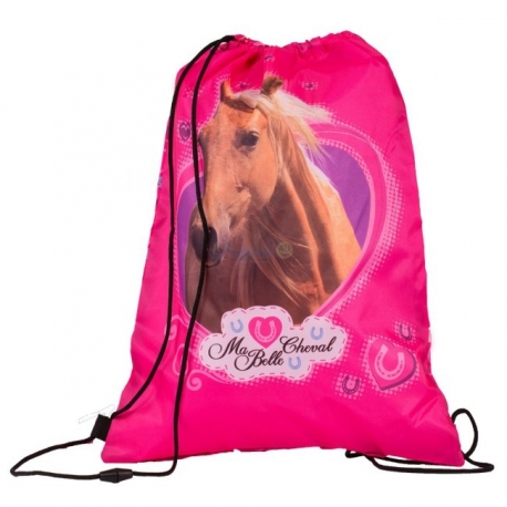 Sac De Sport Cheval Rose
