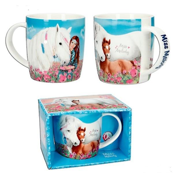 Mug Boîte Cadeau Cheval Miss Mélody
