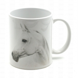 Mug Portrait De Cheval Blanc
