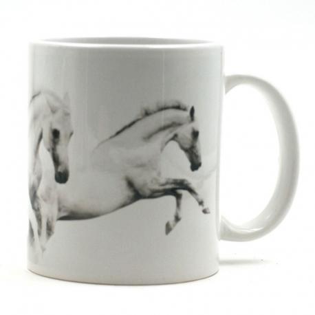 Mug Horde De Chevaux Blanc