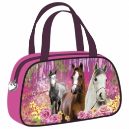 Sac A Main Cheval Rose