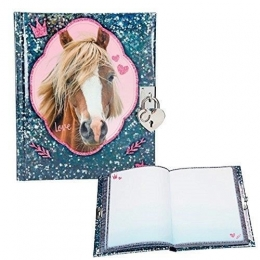 Horses Dreams: Journal Intime Cheval Bleu
